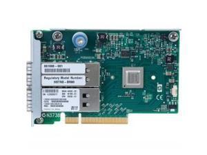 HP InfiniBand QDR/EN 10Gb Dual Port 544FLR-QSFP Adapter