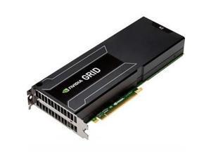 HP GRID K2 753958-B21 6GB GDDR5 PCI Express Plug-in Card Reverse Air Flow Dual GPU PCIe Graphics Accelerator