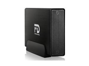 Fantom Drives Professional 5TB USB 3.0 / Firewire400 / Firewire800 / eSATA Aluminum Desktop External Hard Drive GFP5000Q3 Black