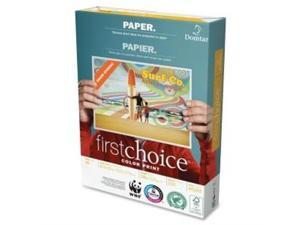 """Domtar 85283 First Choice Copy Paper Letter - 8.50"""" x 11"""" - 500 / Ream - White"""