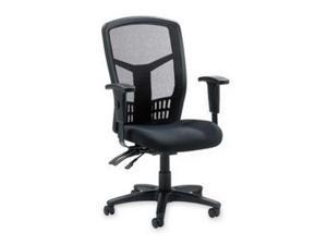 "Exec High-Back Chair Mesh 28-1/2""x28-1/2""x45 Black"