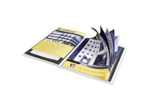 "Presentation Books 24 Pages 8-1/2""x11"" Black Framed Cover"