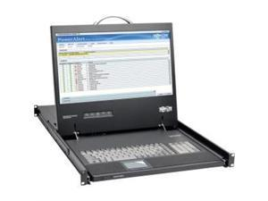 "TRIPP LITE B021-000-19-HD 1U Rack-Mount Console with 19"" LCD, DVI or VGA"
