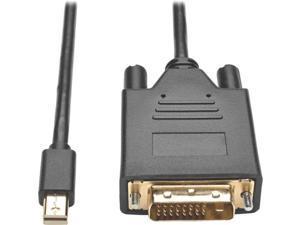 Tripp Lite Mini DisplayPort 1.2 to DVI Active Adapter Cable, Mini DP to DVI (M/M), 1920 x 1080/1080p, 6 ft. (P586-006-DVI-V2)
