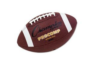 "Pro Composite Football Official Size 22"" Brown"