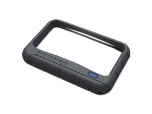 BAUSCH & LOMB INC BAL628006 Rectangular Handheld Magnifier, 2X LED, 2 in. x 4 in., Gray