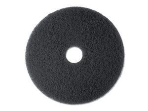 "Stripper Floor Pad 7200, 13"", Black, 5 Pads/Carton"