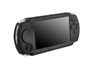 Silicone Skin Case for Sony PSP 3000, Black