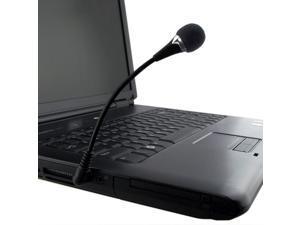 eForCity VOIP / SKYPE Mini Flexible Microphone - Black