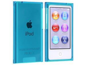 eForCity Snap-on Slim Case Cover Compatible with Apple® iPod nano 7th Generation, Clear Blue