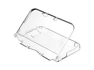 eForCity Crystal Case Cover Compatible With Nintendo 3DS XL, Clear