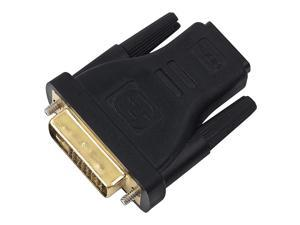 eForCity Black High Speed HDMI Cable M/M + Black HDMI-F to DVI-M Adapter For PS3 / PS4 / Xbox One HDTV Full HD