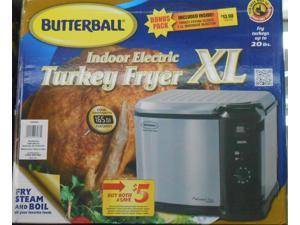 Masterbuilt Butterball Indoor Electric Fryer Cooker, Extra Large Capacity, Turkey up to 20 lbs