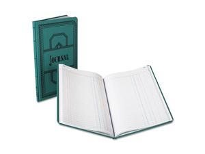 Boorum & Pease - Record/Account Book, Journal Rule, Blue, 150 Pages - 12 1/8 x 7 5/8