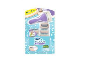 Schick Intuition Pure Nourishment Razor with 12 Cartridges
