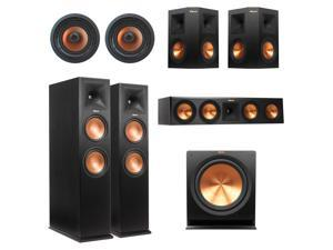 Klipsch RP-280 5.1.4 In-Ceiling Dolby Atmos System (Black)