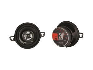"""Kicker 11KS35 3-1/2"""" KS-Series 3-Way Coaxial Speakers - Pair (Black)"""