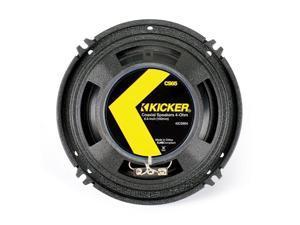 """Kicker 40CS654 6-1/2"""" CS-Series Coaxial Speakers - Pair (Black)"""