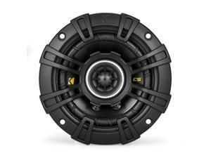 """Kicker 40CS44 4"""" CS-Series Coaxial Speakers - Pair (Black)"""