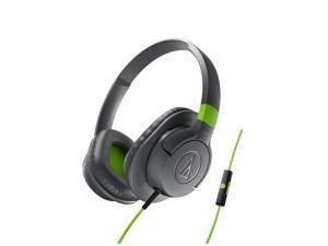 Audio-Technica ATH-AX1iS SonicFuel Over-Ear Headphones (Gray)