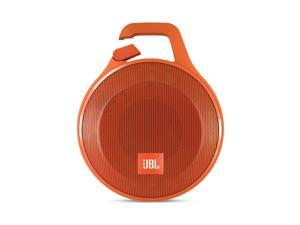 JBL Clip+ Portable Bluetooth Splashproof Speaker (Orange)