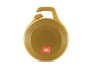 JBL Clip+ Portable Bluetooth Splashproof Speaker (Yellow)
