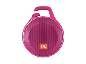 JBL Clip+ Portable Bluetooth Splashproof Speaker (Pink)
