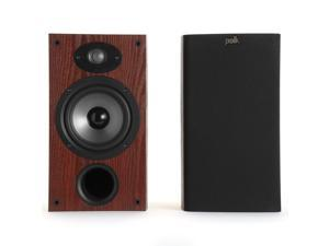 """Polk Audio TSx220B 2-Way Bookshelf Speakers with 6-1/2"""" Driver - Pair (Cherry)"""