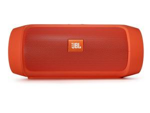 JBL Charge 2+ Portable Bluetooth Splashproof Speaker (Orange)