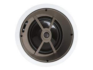 "Proficient Audio C840 8"" Graphite In-Ceiling LCR Speaker - Each (White)"
