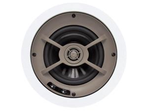 """Proficient Audio C640 6.5"""" Graphite In-Ceiling Speaker - Pair (White)"""