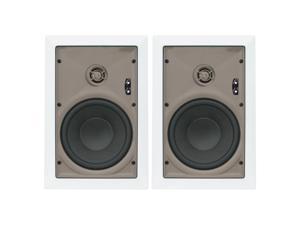 "Proficient Audio W690 6.5"" Kevlar In-Wall Speaker - Pair (White)"