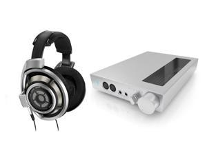 Sennheiser HD800 Professional Studio Over-Ear Headphones and HDVD800 Digital Headphone Amplifier