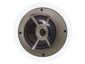 "Proficient Audio C655 6.5"" Graphite In-Ceiling LCR Speaker - Each (White)"
