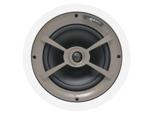 "Proficient Audio C790 8"" Polypropylene In-Ceiling Speaker - Pair (White)"