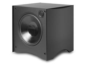 "Atlantic Technology 444SB-BLK Powered Box 12"" Subwoofer 325 Watt (Satin Black)"