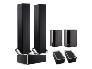 Definitive Technology BP9020 5.0 High Power Bipolar Tower Speaker Package with Integrated Subwoofers and Dolby Atmos Mod