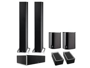 Definitive Technology BP9060 5.0 High Power Bipolar Tower Speaker Package with Integrated Subwoofers and Dolby Atmos Mod