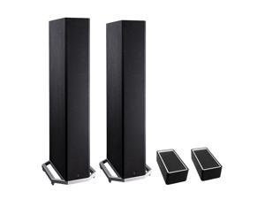"""Definitive Technology BP9020 High Power Bipolar Tower Speaker with Integrated 8"""" Subwoofer and Dolby Atmos Module - Pair"""