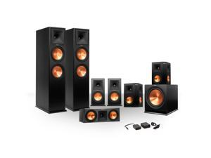 Klipsch 7.1 RP-250 Reference Premiere Surround Sound Speaker Package with R-110SW Subwoofer and a FREE Wireless Kit (Ebo