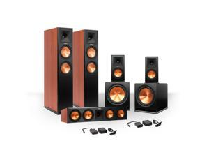 Klipsch 5.2 RP-280 Reference Premiere Speaker Package with R-115SW Subwoofers and two FREE Wireless Kits (Cherry)