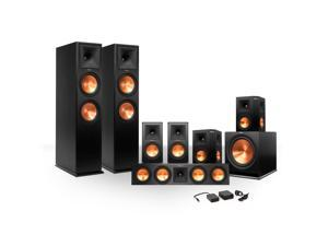Klipsch 7.1 RP-260 Reference Premiere Surround Sound Speaker Package with R-112SW Subwoofer and a FREE Wireless Kit (Bla