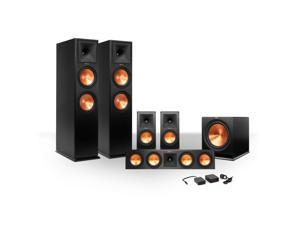Klipsch 5.1 RP-280 Reference Premiere Speaker Package with R-115SW Subwoofer and a FREE Wireless Kit (Ebony)