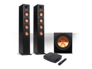 """Klipsch Reference Premiere HD Wireless 2.1 Floorstanding System with 10"""" Subwoofer"""