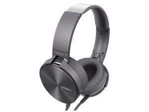 Sony MDR-XB950AP/H Extra Bass Smartphone Headphones with In-Line Mic (Gray)