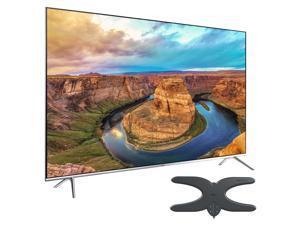"Samsung UN65KS8000 65"" Class KS8000 8-Series 4K SUHD TV with Mohu Sky 60 HDTV Outdoor Antenna"