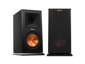 "Klipsch RP-160M Reference Premiere Monitor Speakers With 6.5"" Cerametallic Cone Woofer - Pair (Ebony)"