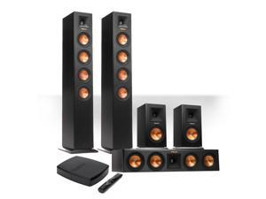 Klipsch Reference Premiere HD Wireless 5.0-Channel Floorstanding Speaker System with FREE HD Control Center