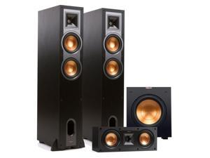 "Klipsch R-26F 3.1 Reference Floorstanding Speaker Package with 10"" Powered Subwoofer (Black)"