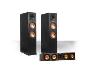 Klipsch RP-280FA Reference Premiere Dolby Atmos Enabled Floorstanding Speaker Package with RP-450C Center Speaker (Black